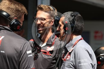 World © Octane Photographic Ltd. Formula 1 - Monaco GP - Practice 3. Guenther Steiner  - Team Principal of Haas F1 Team. Monte-Carlo. Saturday 26th May 2018.