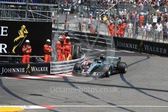 World © Octane Photographic Ltd. Formula 1 – Monaco GP - Practice 3. Mercedes AMG Petronas Motorsport AMG F1 W09 EQ Power+ - Valtteri Bottas. Monte-Carlo. Saturday 26th May 2018.