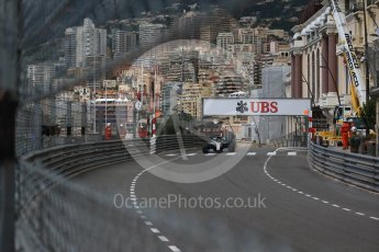 World © Octane Photographic Ltd. Formula 1 – Monaco GP - Practice 1. Mercedes AMG Petronas Motorsport AMG F1 W09 EQ Power+ - Lewis Hamilton. Monte-Carlo. Thursday 24th May 2018.