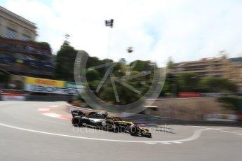 World © Octane Photographic Ltd. Formula 1 – Monaco GP - Practice 2. Renault Sport F1 Team RS18 – Nico Hulkenberg. Monte-Carlo. Thursday 24th May 2018.