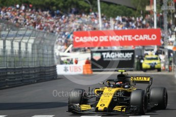World © Octane Photographic Ltd. Formula 1 – Monaco GP - Qualifying. Renault Sport F1 Team RS18 – Carlos Sainz. Monte-Carlo. Saturday 26th May 2018.