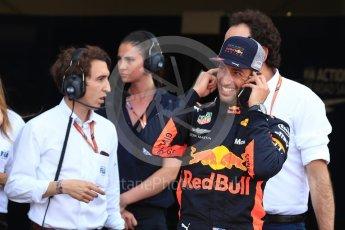 World © Octane Photographic Ltd. Formula 1 – Monaco GP - Qualifying. Aston Martin Red Bull Racing TAG Heuer RB14 – Daniel Ricciardo. Monte-Carlo. Saturday 26th May 2018.