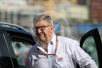 World © Octane Photographic Ltd. Formula 1 - Monaco GP - Paddock. Ross Brawn – Managing Director of Formula 1 for Liberty Media. Monte-Carlo. Sunday 27th May 2018.