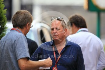 World © Octane Photographic Ltd. Formula 1 – Monaco GP - Paddock. Martin Brundel. Monte-Carlo. Thursday 24th May 2018.