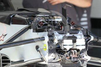 World © Octane Photographic Ltd. Formula 1 – Monaco GP - Setup. Haas F1 Team VF-18. Monte-Carlo. Wednesday 23rd May 2018.