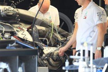World © Octane Photographic Ltd. Formula 1 – Monaco GP - Setup. Mercedes AMG Petronas Motorsport AMG F1 W09 EQ Power+. Monte-Carlo. Wednesday 23rd May 2018.