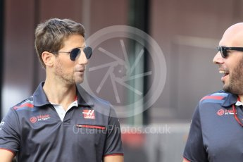 World © Octane Photographic Ltd. Formula 1 – Monaco GP - Setup. Haas F1 Team VF-18 – Romain Grosjean. Monte-Carlo. Wednesday 23rd May 2018.