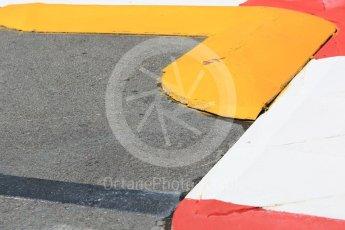 World © Octane Photographic Ltd. Formula 1 – Monaco GP - Setup. Swimming pool entry rumble strip. Monte-Carlo. Wednesday 23rd May 2018.