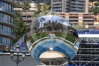 World © Octane Photographic Ltd. Formula 1 – Monaco GP - Setup. Reflections at Hotel Paris. Monte-Carlo. Wednesday 23rd May 2018.