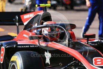 World © Octane Photographic Ltd. FIA Formula 2 (F2) – Monaco GP - Practice. ART Grand Prix - George Russell. Monte Carlo. Thursday 24th May 2018.