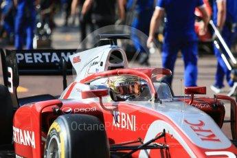 World © Octane Photographic Ltd. FIA Formula 2 (F2) – Monaco GP - Practice. Prema Powerteam - Sean Gelael. Monte Carlo. Thursday 24th May 2018.