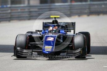 World © Octane Photographic Ltd. FIA Formula 2 (F2) – Monaco GP - Qualifying. Russian Time - Tadasuke Makino. Monte Carlo. Thursday 24th May 2018.