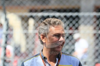 World © Octane Photographic Ltd. FIA Formula 2 (F2) – Monaco GP - Race 1. Mario Isola – Pirelli Head of Car Racing. Monte Carlo. Friday 25th May 2018.