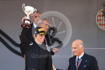 World © Octane Photographic Ltd. FIA Formula 2 (F2) – Monaco GP - Race 1 Podium. MP Motorsport - Roberto Merhi. Monte Carlo. Friday 25th May 2018.