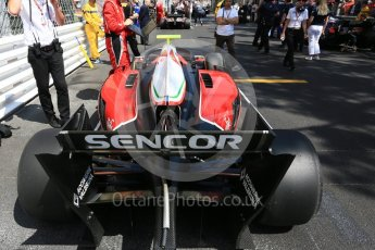 World © Octane Photographic Ltd. FIA Formula 2 (F2) – Monaco GP - Race 1. Carouz - Antonio Fuoco. Monte Carlo. Friday 25th May 2018.