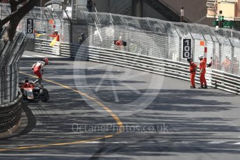 World © Octane Photographic Ltd. FIA Formula 2 (F2) – Monaco GP - Race 1. Campos Vexatec Racing - Luca Ghiotto brings out the safety car. Monte Carlo. Friday 25th May 2018.