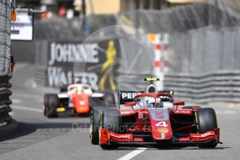 World © Octane Photographic Ltd. FIA Formula 2 (F2) – Monaco GP - Race 1. Prema Powerteam - Nyck de Vries. Monte Carlo. Friday 25th May 2018.