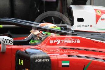 World © Octane Photographic Ltd. FIA Formula 2 (F2) – Monaco GP - Race 2. Carouz - Louis Delatraz. Monte Carlo. Saturday 26th May 2018.