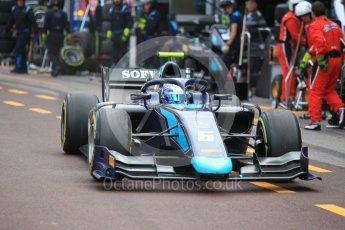 World © Octane Photographic Ltd. FIA Formula 2 (F2) – Monaco GP - Race 2. DAMS - Nicholas Latifi. Monte Carlo. Saturday 26th May 2018.