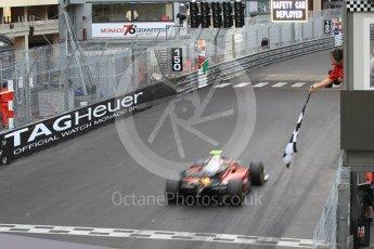World © Octane Photographic Ltd. FIA Formula 2 (F2) – Monaco GP - Race 2. Carouz - Antonio Fuoco. Monte Carlo. Saturday 26th May 2018.