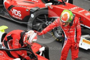 World © Octane Photographic Ltd. FIA Formula 2 (F2) – Monaco GP - Race 2. Carouz - Antonio Fuoco and Louis Delatraz. Monte Carlo. Saturday 26th May 2018.