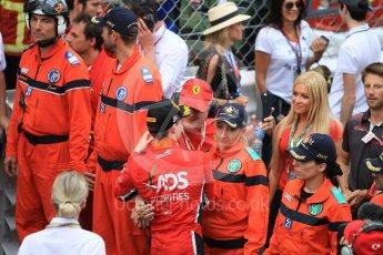 World © Octane Photographic Ltd. FIA Formula 2 (F2) – Monaco GP - Race 2. Charouz - Louis Delatraz. Monte Carlo. Saturday 26th May 2018.