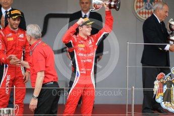 World © Octane Photographic Ltd. FIA Formula 2 (F2) – Monaco GP - Race 2. Charouz - Antonio Fuoco and Louis Delatraz. Monte Carlo. Saturday 26th May 2018.