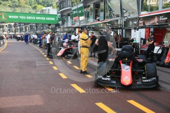 World © Octane Photographic Ltd. FIA Formula 2 (F2) – Monaco GP - Race 2. ART Grand Prix - Jack Aitken. Monte Carlo. Saturday 26th May 2018.