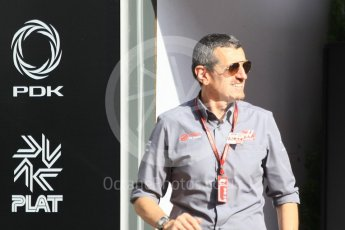 World © Octane Photographic Ltd. Formula 1 - Monaco GP - Paddock. Guenther Steiner - Team Principal of Haas F1 Team. Monte-Carlo. Saturday 26th May 2018.