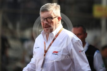 World © Octane Photographic Ltd. Formula 1 - Monaco GP - Paddock. Ross Brawn – Managing Director of Formula 1 for Liberty Media. Monte-Carlo. Saturday 26th May 2018.