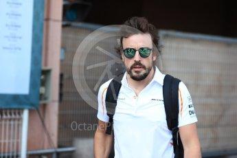 World © Octane Photographic Ltd. Formula 1 – Monaco GP - Paddock. McLaren MCL33 – Fernando Alonso. Monte-Carlo. Saturday 26th May 2018.