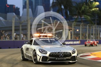 World © Octane Photographic Ltd. Formula 1 – Singapore GP - Drivers Parade. Safety Car. Marina Bay Street Circuit, Singapore. Sunday 16th September 2018.