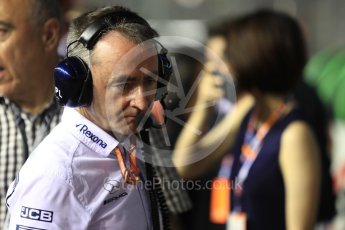 World © Octane Photographic Ltd. Formula 1 – Singapore GP – Drivers Parade. Paddy Lowe. Marina Bay Street Circuit, Singapore. Sunday 16th September 2018.