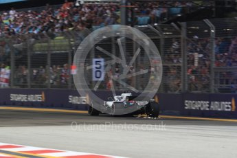 World © Octane Photographic Ltd. Formula 1 – Singapore GP - Practice 3. Williams Martini Racing FW41 – Lance Stroll. Marina Bay Street Circuit, Singapore. Saturday 15th September 2018.