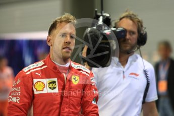 World © Octane Photographic Ltd. Formula 1 – Singapore GP - Qualifying. Scuderia Ferrari SF71-H – Sebastian Vettel. Marina Bay Street Circuit, Singapore. Saturday 15th September 2018.