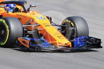 World © Octane Photographic Ltd. Formula 1 – Spanish GP - Practice 1. McLaren MCL33 – Fernando Alonso. Circuit de Barcelona-Catalunya, Spain. Friday 11th May 2018.