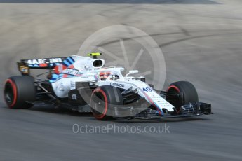World © Octane Photographic Ltd. Formula 1 – Spanish GP - Practice 1. Williams Martini Racing FW41 – Robert Kubica. Circuit de Barcelona-Catalunya, Spain. Friday 11th May 2018.