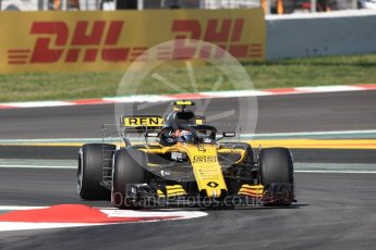 World © Octane Photographic Ltd. Formula 1 – Spanish GP - Practice 1. Renault Sport F1 Team RS18 – Carlos Sainz. Circuit de Barcelona-Catalunya, Spain. Friday 11th May 2018.