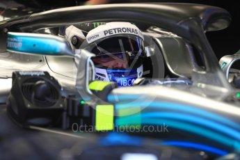 World © Octane Photographic Ltd. Formula 1 – Spanish GP - Saturday - Practice 3. Mercedes AMG Petronas Motorsport AMG F1 W09 EQ Power+ - Valtteri Bottas. Circuit de Barcelona-Catalunya, Spain. Saturday 12th May 2018.