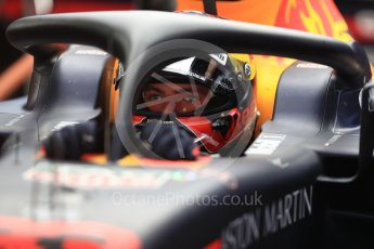 World © Octane Photographic Ltd. Formula 1 – Spanish GP - Saturday - Practice 3. Aston Martin Red Bull Racing TAG Heuer RB14 – Max Verstappen. Circuit de Barcelona-Catalunya, Spain. Saturday 12th May 2018.
