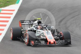 World © Octane Photographic Ltd. Formula 1 – Spanish GP - Saturday Qualifying. Haas F1 Team VF-18 – Kevin Magnussen. Circuit de Barcelona-Catalunya, Spain. Saturday 12th May 2018.