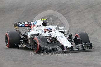 World © Octane Photographic Ltd. Formula 1 – Spanish GP - Saturday Qualifying. Williams Martini Racing FW41 – Sergey Sirotkin. Circuit de Barcelona-Catalunya, Spain. Saturday 12th May 2018.