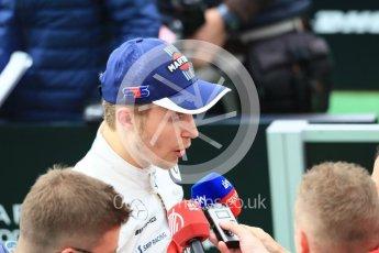 World © Octane Photographic Ltd. Formula 1 – Spanish GP - Saturday Qualifying. Williams Martini Racing FW41 – Sergey Sirotkin. Circuit de Barcelona-Catalunya, Spain. Saturday 12th May 2018.
