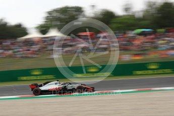 World © Octane Photographic Ltd. Formula 1 – Spanish GP - Saturday Qualifying. Haas F1 Team VF-18 – Romain Grosjean. Circuit de Barcelona-Catalunya, Spain. Saturday 12th May 2018.