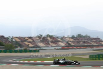World © Octane Photographic Ltd. Formula 1 – Spanish GP - Saturday Qualifying. Mercedes AMG Petronas Motorsport AMG F1 W09 EQ Power+ - Lewis Hamilton. Circuit de Barcelona-Catalunya, Spain. Saturday 12th May 2018.