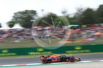 World © Octane Photographic Ltd. Formula 1 – Spanish GP - Saturday Qualifying. Aston Martin Red Bull Racing TAG Heuer RB14 – Daniel Ricciardo. Circuit de Barcelona-Catalunya, Spain. Saturday 12th May 2018.