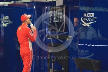 World © Octane Photographic Ltd. Formula 1 – Spanish GP - Saturday Qualifying. Scuderia Ferrari SF71-H – Sebastian Vettel. Circuit de Barcelona-Catalunya, Spain. Saturday 12th May 2018.