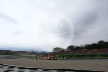 World © Octane Photographic Ltd. Formula 1 – Spanish GP - Saturday Qualifying. McLaren MCL33 – Stoffel Vandoorne. Circuit de Barcelona-Catalunya, Spain. Saturday 12th May 2018.
