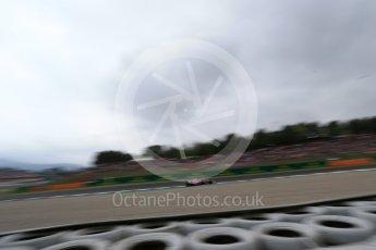 World © Octane Photographic Ltd. Formula 1 – Spanish GP - Saturday Qualifying. Sahara Force India VJM11 - Sergio Perez. Circuit de Barcelona-Catalunya, Spain. Saturday 12th May 2018.
