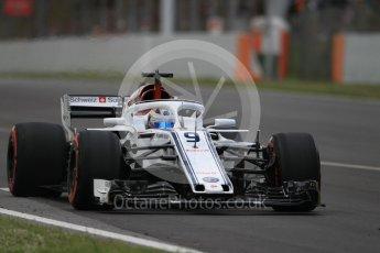 World © Octane Photographic Ltd. Formula 1 – Spanish GP - Race. Alfa Romeo Sauber F1 Team C37 – Marcus Ericsson. Circuit de Barcelona-Catalunya, Spain. Sunday 13th May 2018.